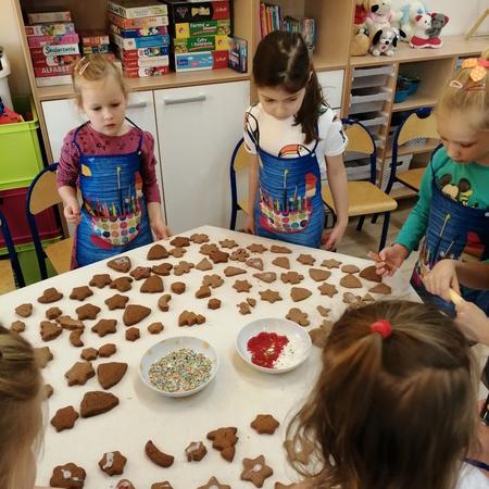 Galeria Pierniki w przedszkolu